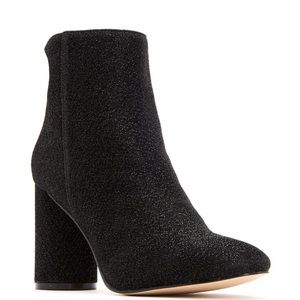 New! Katy Perry Mayari Black Glitter Boots